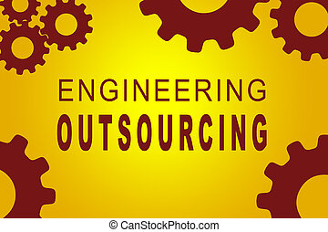 Engineering Outsourcing concept