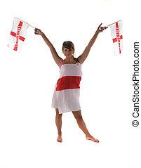 England Fan 2