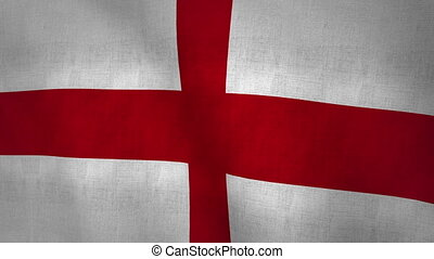England Flag Background (Loop-able)