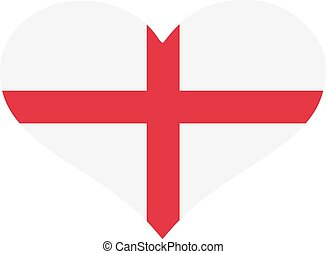 England flag heart