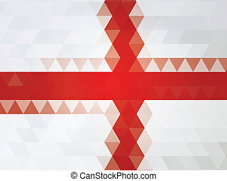 England flag of vector