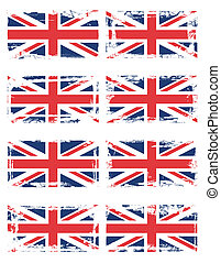 England flag set