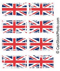 England flag set