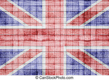 England flag texture background