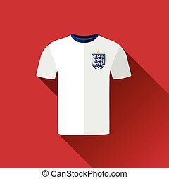 England Flat Icon Football Jersey