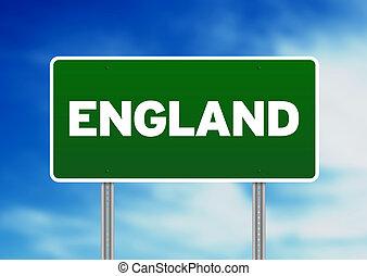 England Highway  Sign