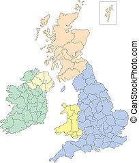 England, Ireland, Scotland and Wales - England, Ireland,...