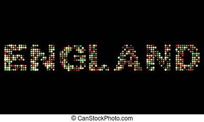 england, leuchtdiode, text