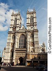 England, London, Westminster Abbey - The Westminster Abbey...