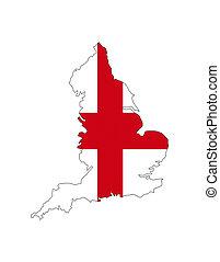 england map shape