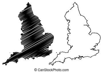 England map vector