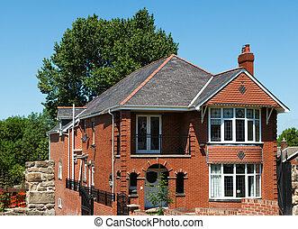 England new house