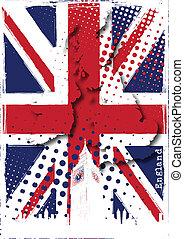 england, plakat