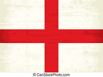 England scratched flag