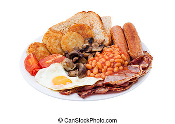 English Breakfast - Traditional English Breakfast. Image is...