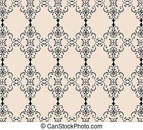 English Britannic style ornament pattern