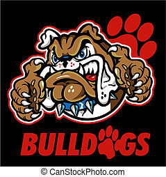 english bulldog mascot