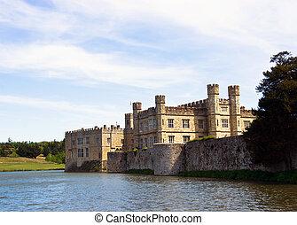 English castle on the island.