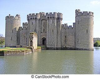 The classic castle at Bodiam, Sussex