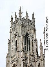 Church Tower - English Church Tower