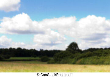 English countryside around the Chilterns in England Out of...