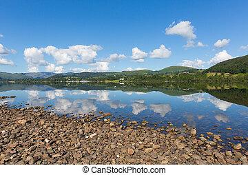English countryside lake District