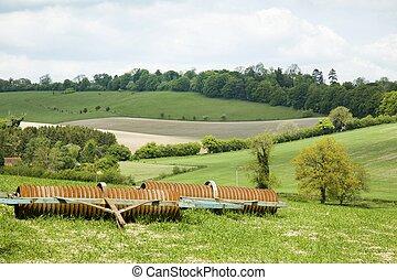 English farmland UK