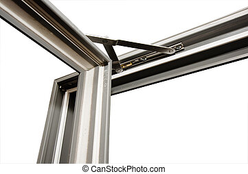 English fiberglass window with  external opening