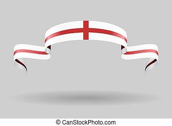 English flag background. Vector illustration.