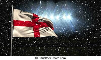 English Flag Video