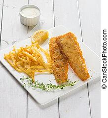 English food , Fish and chips