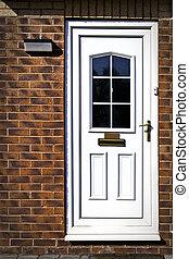 English front door