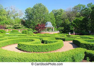 Saint Louis Botanical garden.