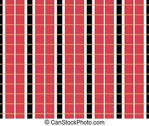 English red seamless pattern