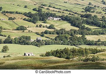 English rural countryside