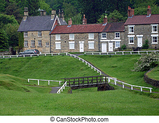 English rural countryside houses