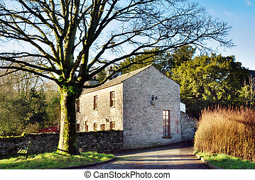 English Rural Stone House