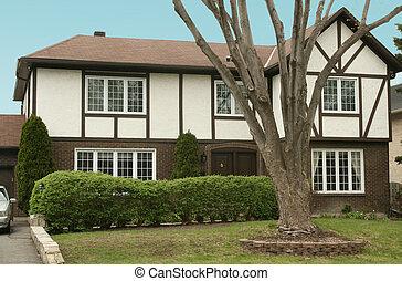 English style tudor cottage