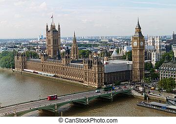 englnad, 倫敦, 議會