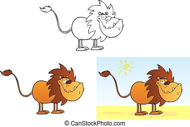 engraçado, lion.collection