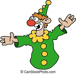 engraçado, verde, goof