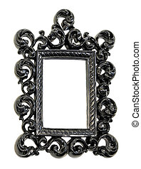 Engraved frame - Very ornamental style of photo frame...