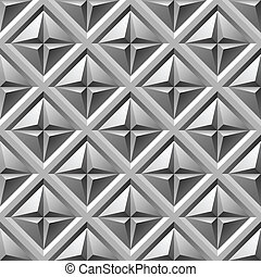 engraved metall seamless pattern