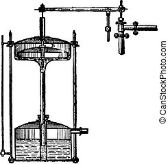 engraving., 調整装置, 型, 詳細