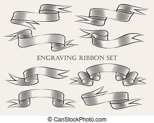 Engraving Ribbon set