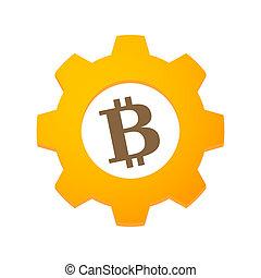 engrenage, bitcoin