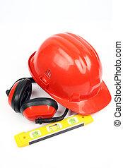 engrenage, kit, sécurité, haut fin