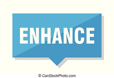 enhance price tag - enhance blue square price tag