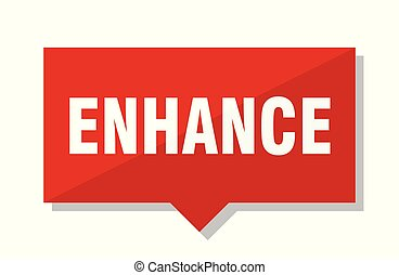 enhance red tag - enhance red square price tag
