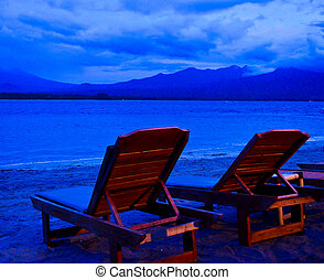 Enjoy an ocean sunset